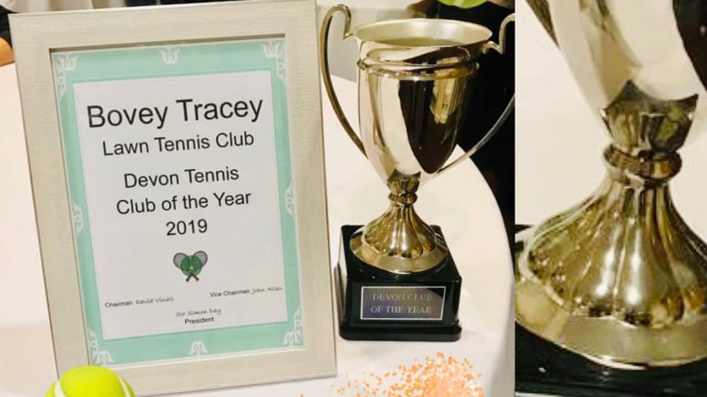Club named 'Regional Club of the Year' by LTA!